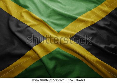 JAMAICANFLAG WAVING