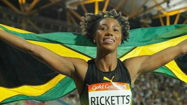 Shanieka Ricketts wins NACAC triple jump gold