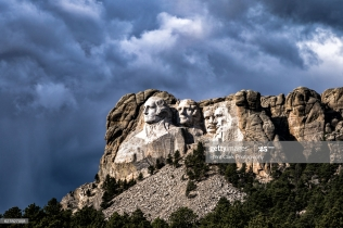 Mount Rushmore National Monument, Black Hills of South Dakota